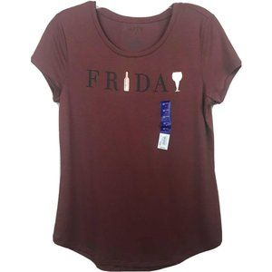 🌸3 for $20🌸 Apt 9 Friday Wine Graphic Tee